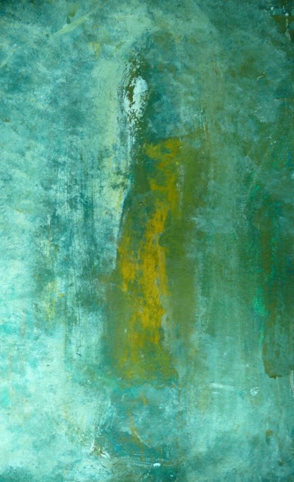 Figure it out, Acryl und Pigment auf Papier, 100×70