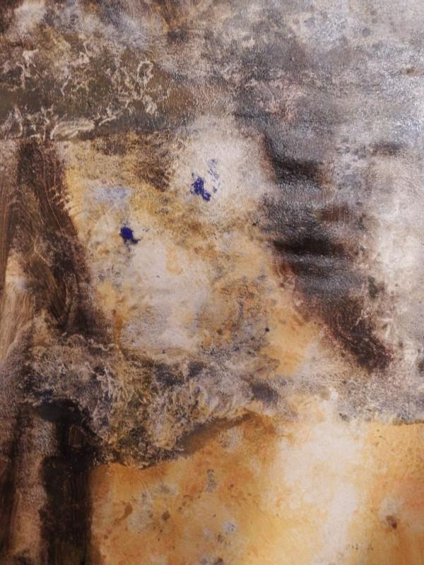 Midnight Oil, Acryl auf Papier, 50/40