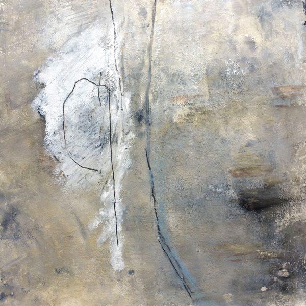 What we have in common, Acryl und Gouache auf Papier, 40/40