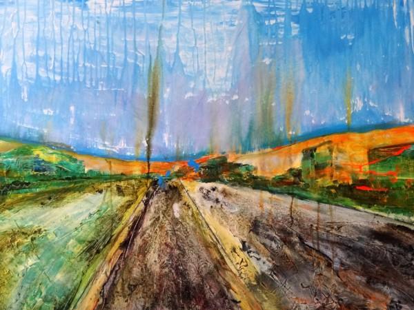 Toxic Landscape, Acryl auf Leinwand, 60/80