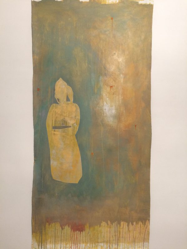 On a silver afternoon, Mixed Media auf Leinwand, 200/100