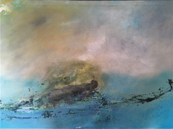 Archipelago, Öl auf Leinwand, 140-100
