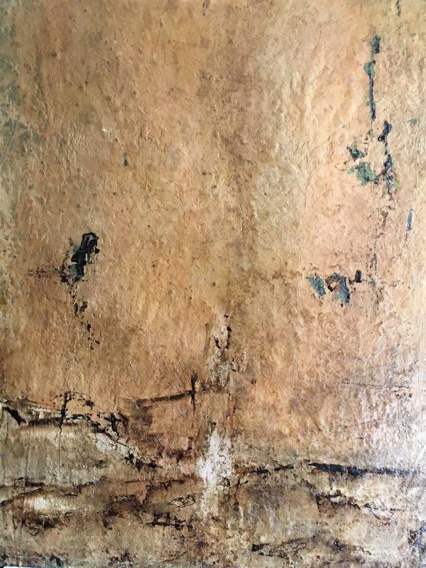 Wild at Heart, Öl, Lack, Bitumen auf Leinwand, kaschiert auf Kappaplatte, 90-70
